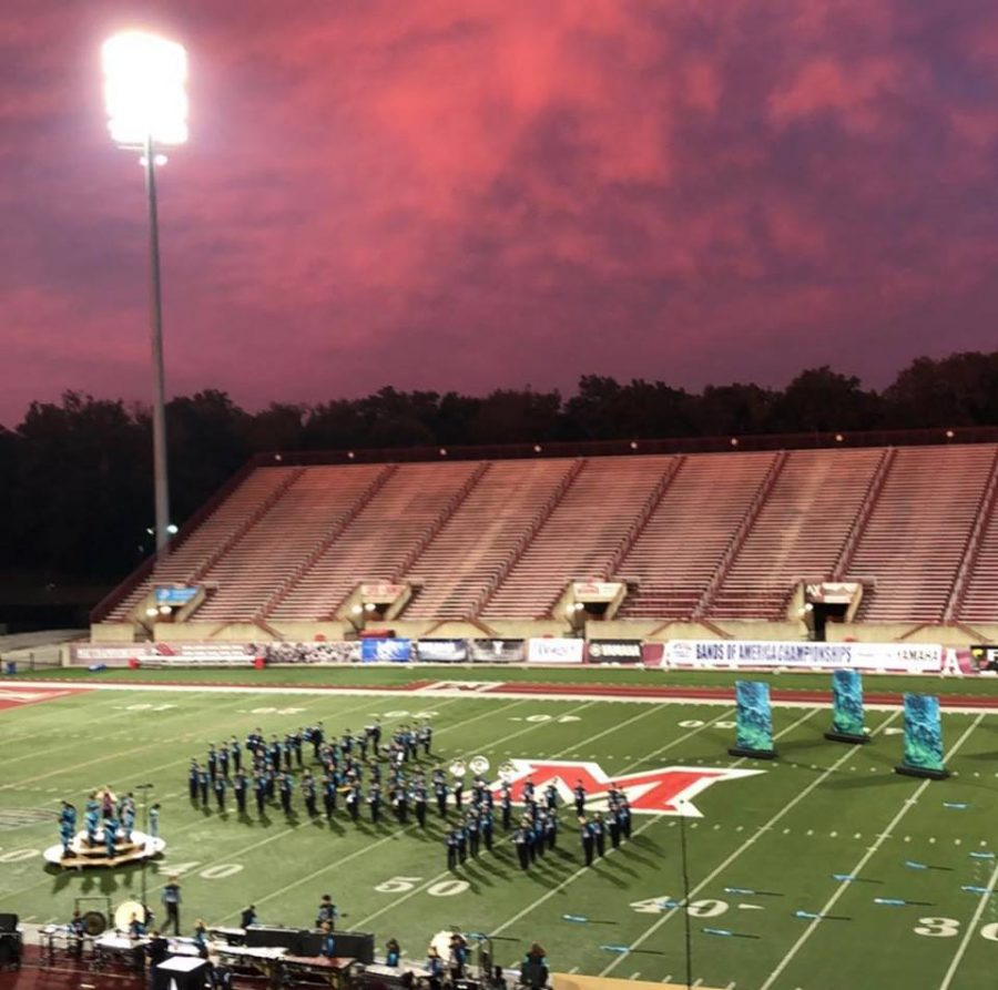 Marching Colonels Named Class A Champs at BOA Oxford Regional Championship