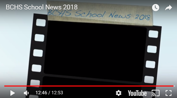 BCHS Broadcast News 9-14-18