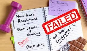 Why do New Years Resolutions Fail?