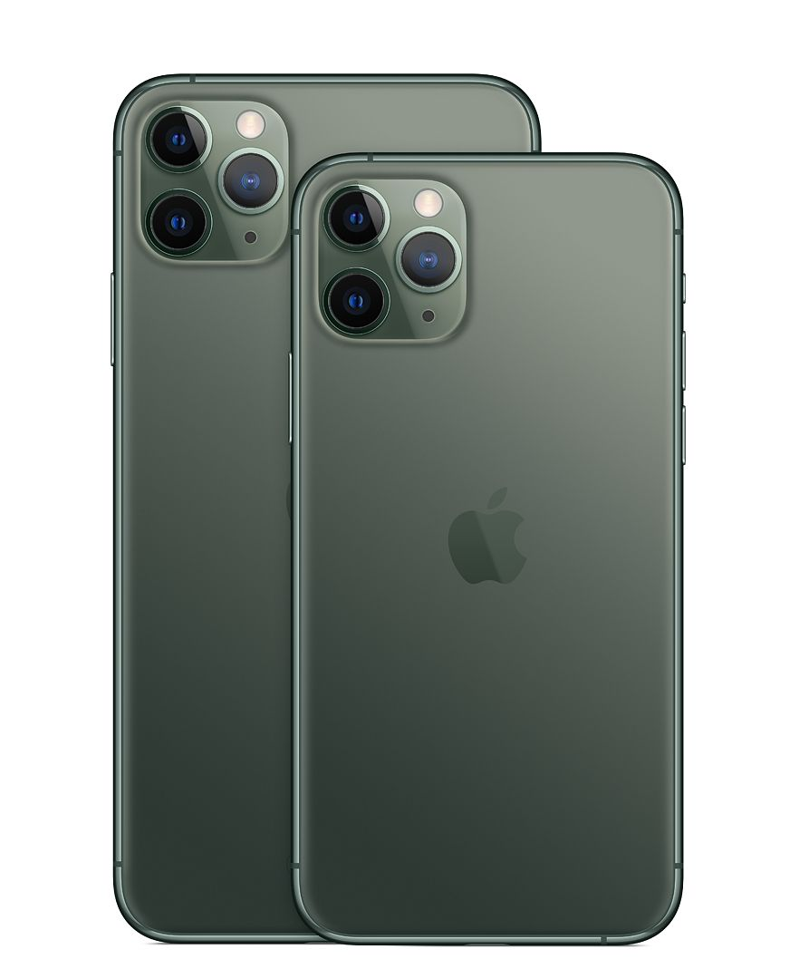 Image of the iPhone 11 pro and iPhone 11 pro max.
