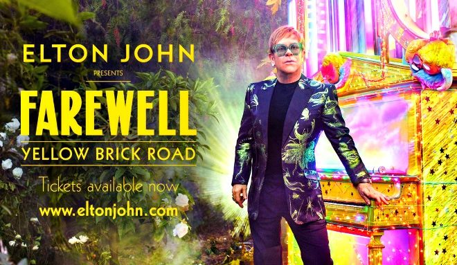 Elton+John%27s+promotional+poster+for+his+Farewell+tour.