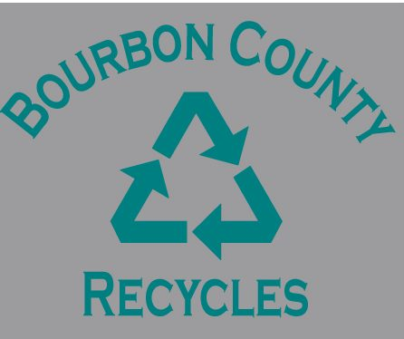 The design that will be on the recycling T-shirts.