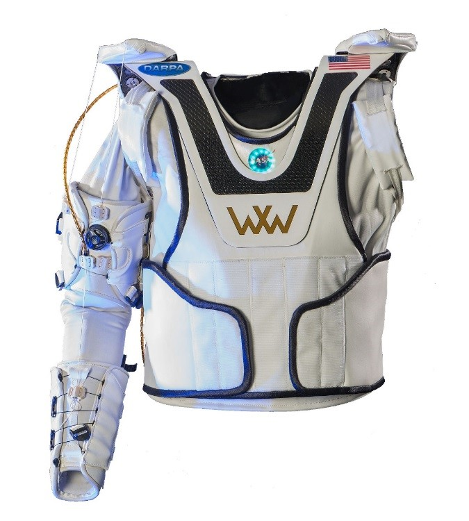 Exo suit made by NASA called X1 robotic exoskeleton.