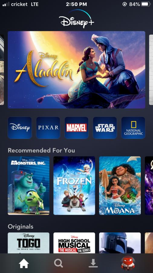 Disney Pluss set up