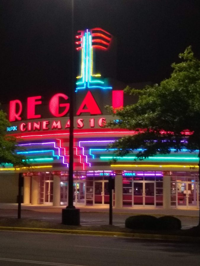 The Regal Cinema at Hamburg, photographed by Sophia Prichard