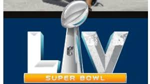 The logo of the Super Bowl.