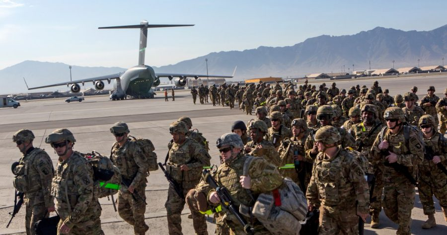 Soldiers+from+the+U.S.+prepare+to+leave+Kabul%2C+Afghanistan+