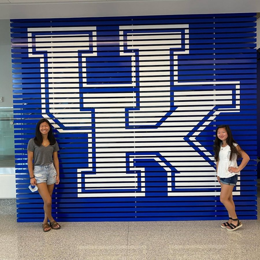 College tour at the University of Kentucky