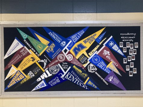 A bulletin board (between Ms.Getz and Ms.Leggetts